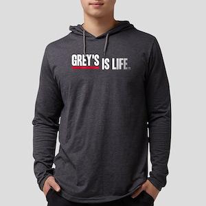 Greys Anatomy Greys Is Life whit Mens Hooded Shirt