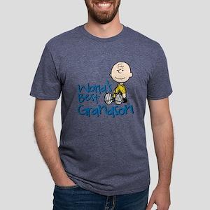 WorldsBestGrandson Mens Tri-blend T-Shirt
