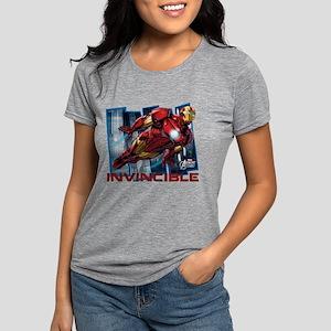 Iron Man Invincible  Womens Tri-blend T-Shirt