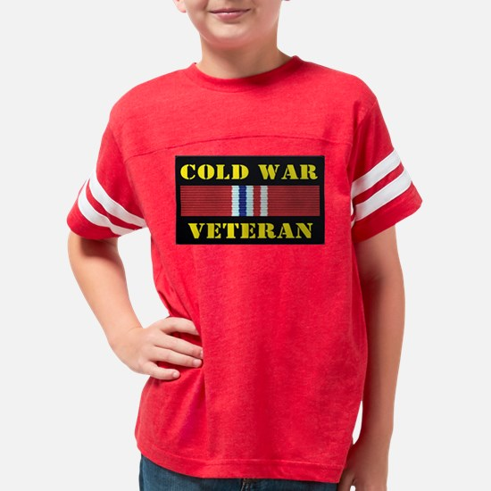 COLD WAR VETERAN Youth Football Shirt