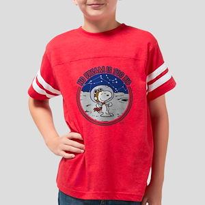 Peanuts No Dream Is Too Big Youth Football Shirt