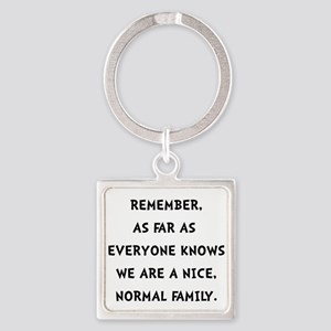 Normal Family Keychains