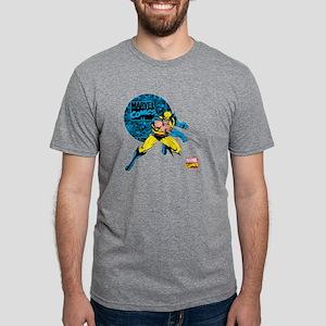 Wolverine Circle Mens Tri-blend T-Shirt