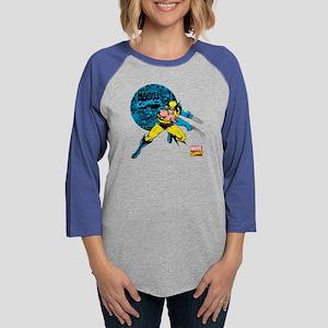 Wolverine Circle Womens Baseball Tee