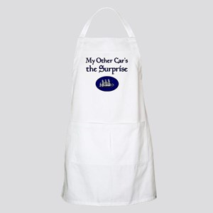 My Other Car's the Surprise BBQ Apron
