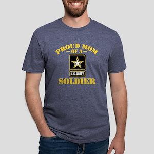 proudarmymom33b Mens Tri-blend T-Shirt