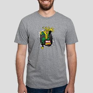 Loki Ripped Mens Tri-blend T-Shirt