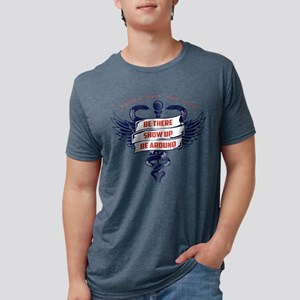 One Trick Be There Mens Tri-blend T-Shirt