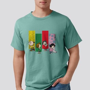 Peanuts Gang Lineup Mens Comfort Colors Shirt