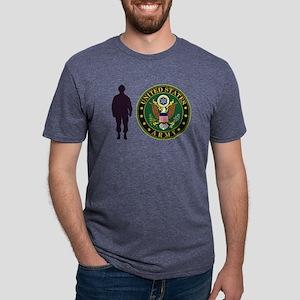 USArmy Symbol YS Mens Tri-blend T-Shirt