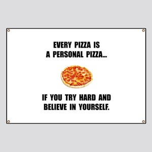 Personal Pizza Banner