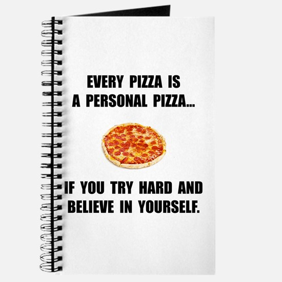 Personal Pizza Journal