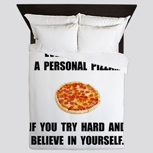 Personal Pizza Queen Duvet