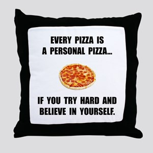 Personal Pizza Throw Pillow