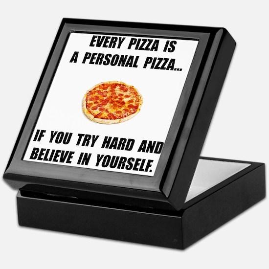 Personal Pizza Keepsake Box