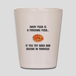 Personal Pizza Shot Glass