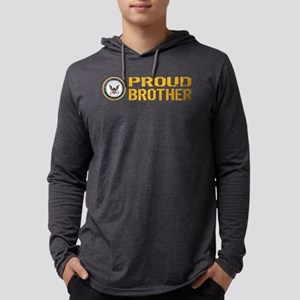 U.S. Navy: Proud Brother Mens Hooded Shirt