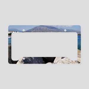 Puerto Banus beach License Plate Holder