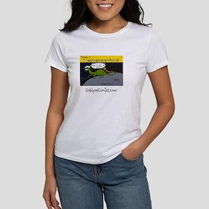 Womens Brontosaurus from Pluto T-Shirt