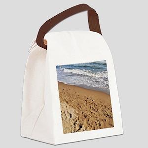 Marbella beach Canvas Lunch Bag