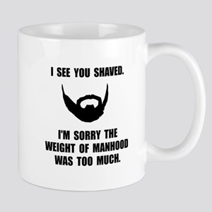 Shaved Manhood Mugs