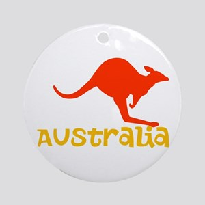 Australia Ornament (Round)