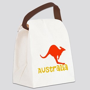 Australia Canvas Lunch Bag
