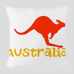 Australia Woven Throw Pillow