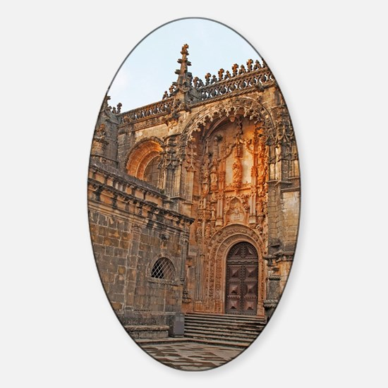 The Templar Church Sticker (Oval)