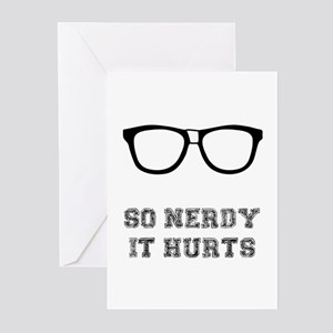 So Nerdy Greeting Cards