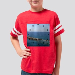 keywest2_clock Youth Football Shirt