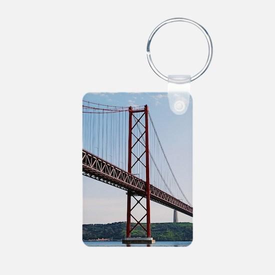 April 25th bridge Keychains