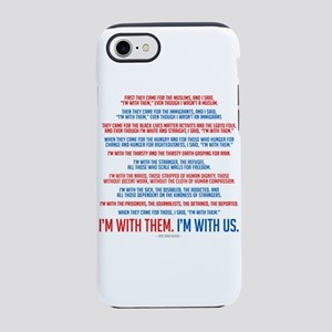 I'm With Us iPhone 7 Tough Case