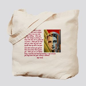 your society is doomed Tote Bag