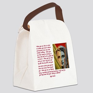your society is doomed Canvas Lunch Bag