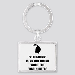 Vegetarian Bad Hunter Keychains