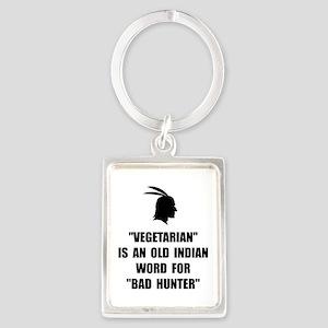 Vegetarian Bad Hunter Keychains