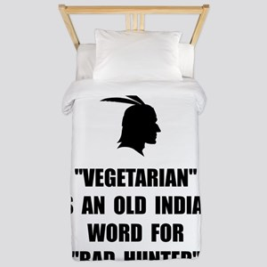 Vegetarian Bad Hunter Twin Duvet
