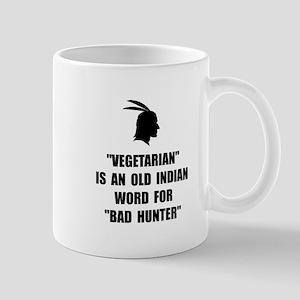 Vegetarian Bad Hunter Mugs