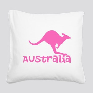 Australia Square Canvas Pillow