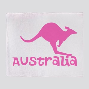 Australia Throw Blanket