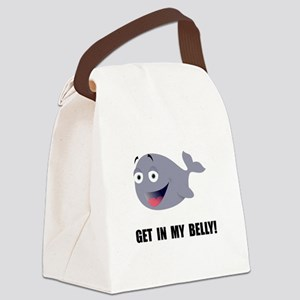 Whale Belly Canvas Lunch Bag