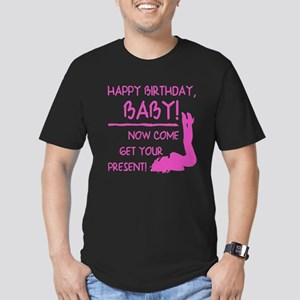 Sexy Birthday Gift For Men Men's Fitted T-Shirt (d