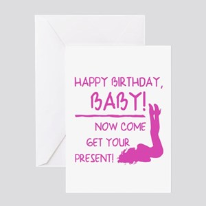 Sexy Birthday Gift For Men Greeting Card