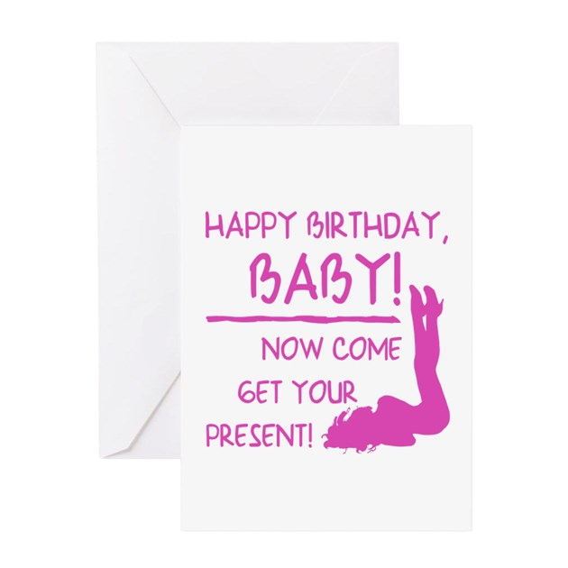 Sexy Birthday Gift For Men Greeting Card By Birthdayhumor1-8134