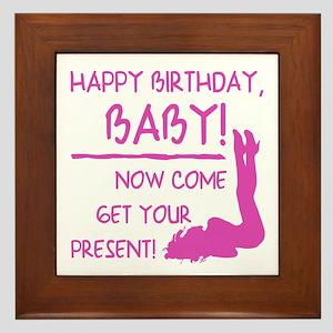 Happy Birthday Boyfriend Tablet Wall Art Cafepress