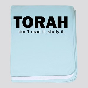 Torah baby blanket