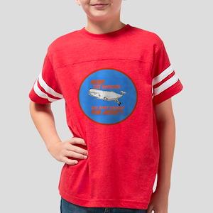 Nuke Round Youth Football Shirt
