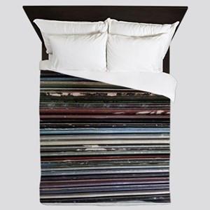 For the Record Queen Duvet
