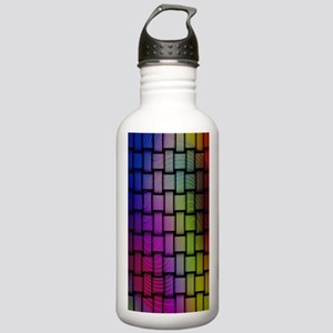 Lattice Fractal Rainbo Stainless Water Bottle 1.0L